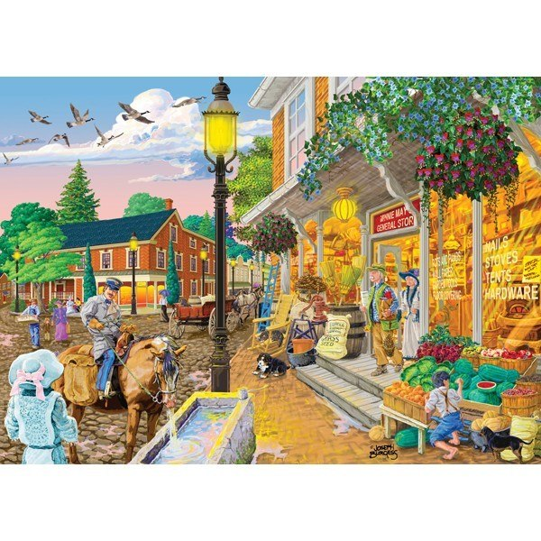 Main Streets: Minnie May General Store - 1000pc Jigsaw Puzzle by Holdson  			  					NEW