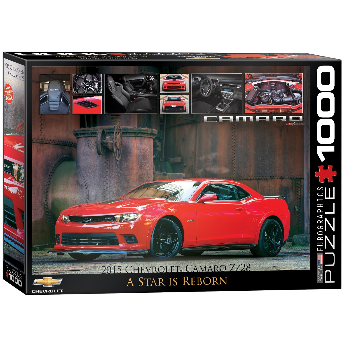 2015 Chevrolet Camaro Z/28: A Star is Reborn - 1000pc Jigsaw Puzzle by Eurographics - image main