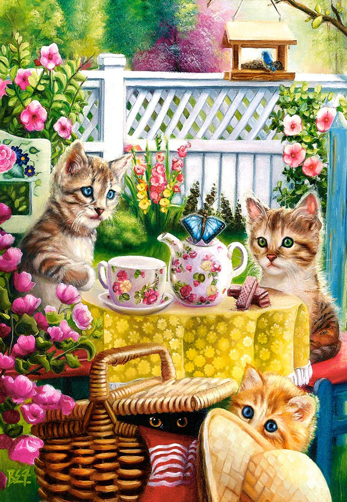 Teatime - 1000pc Jigsaw Puzzle By Castorland  			  					NEW
