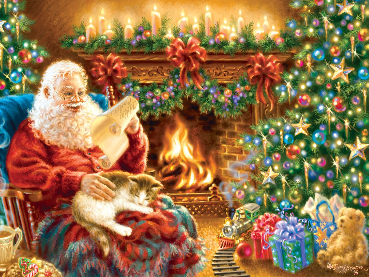 Christmas Dreams - 500pc Jigsaw Puzzle by Masterpieces  			  					NEW