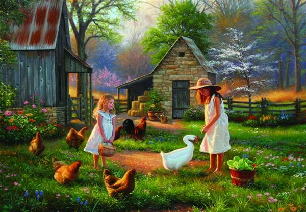 Evening At Grandma's - 500pc Jigsaw Puzzle by Anatolian