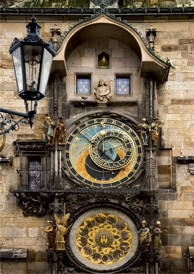 Prague Clock  - 1000pc Jigsaw Puzzle by D-Toys