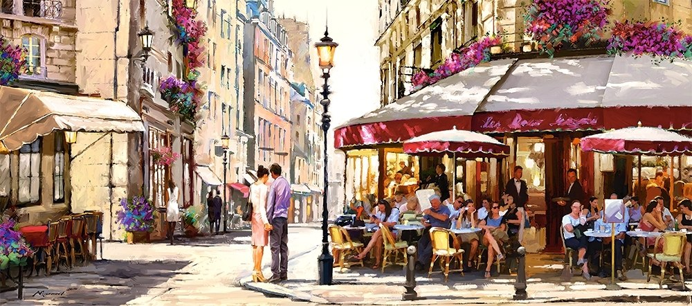 Lovers in Paris - 600pc Jigsaw Puzzle By Castorland  			  					NEW