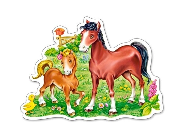 A Little Beautiful Foal - 15pc Jigsaw Puzzle By Castorland