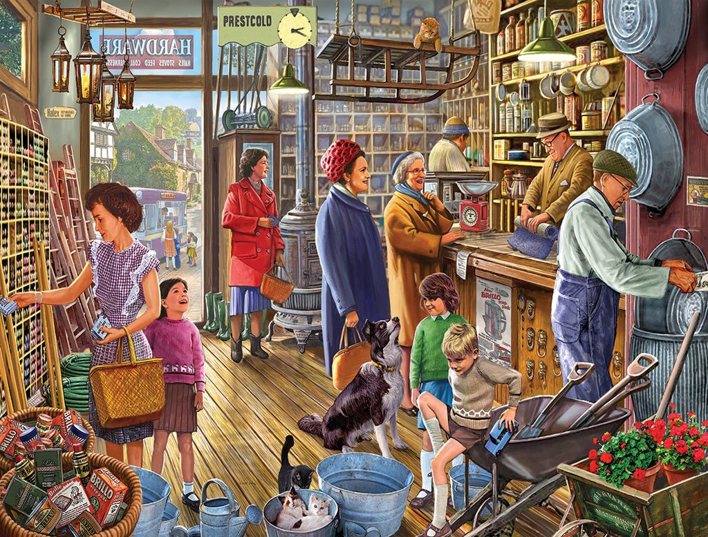 The Hardware Store - 550pc Jigsaw Puzzle By White Mountain