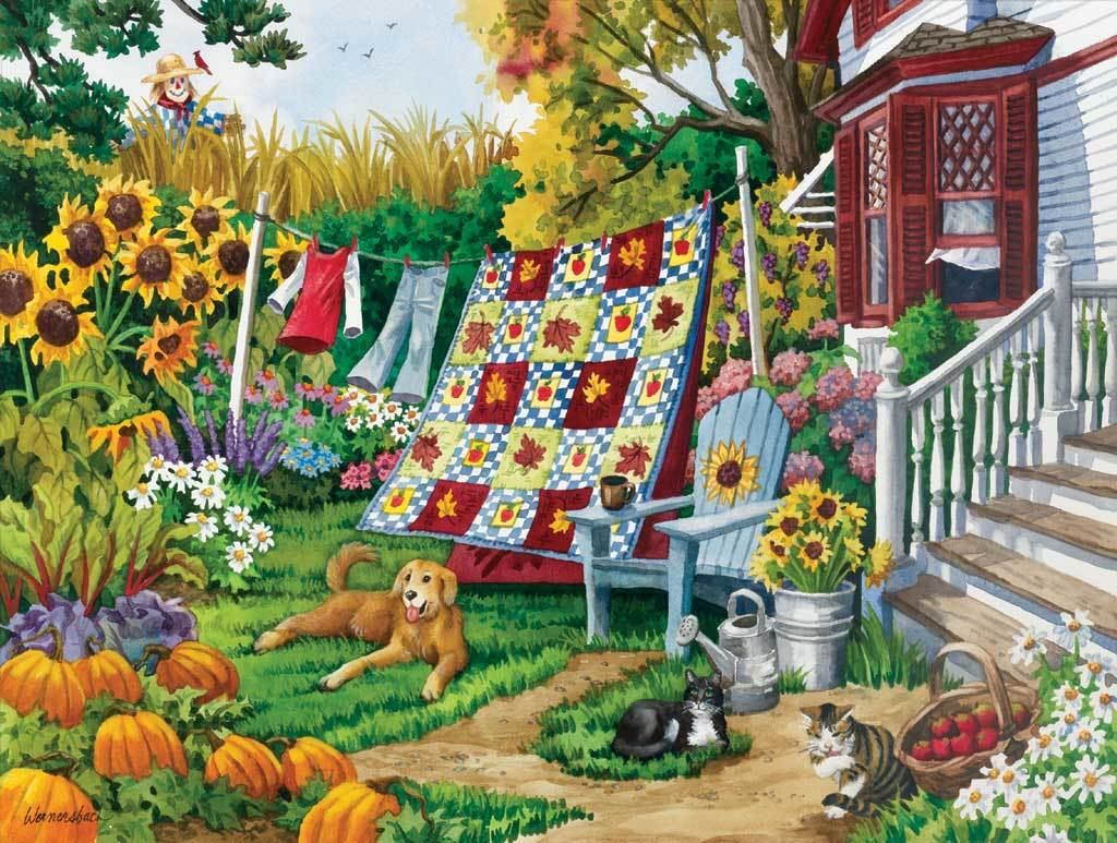 Country Autumn - 500pc Jigsaw Puzzle by Sunsout - image main