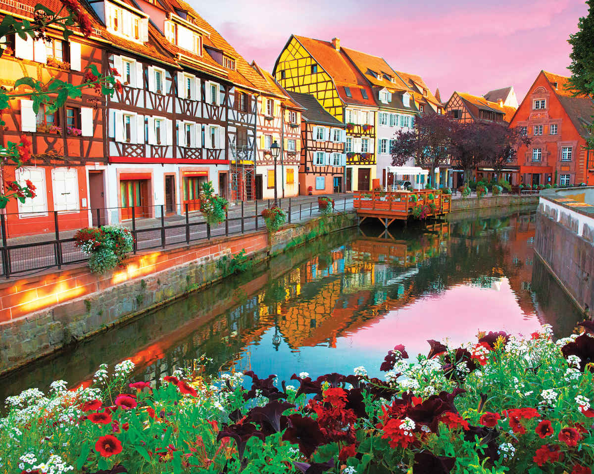 Colmar,  France - 1000pc Jigsaw Puzzle By Springbok - image main