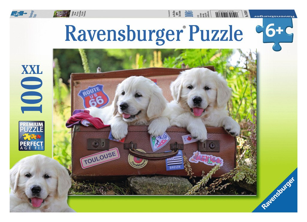 Traveling Pups - 100pc by Ravensburger