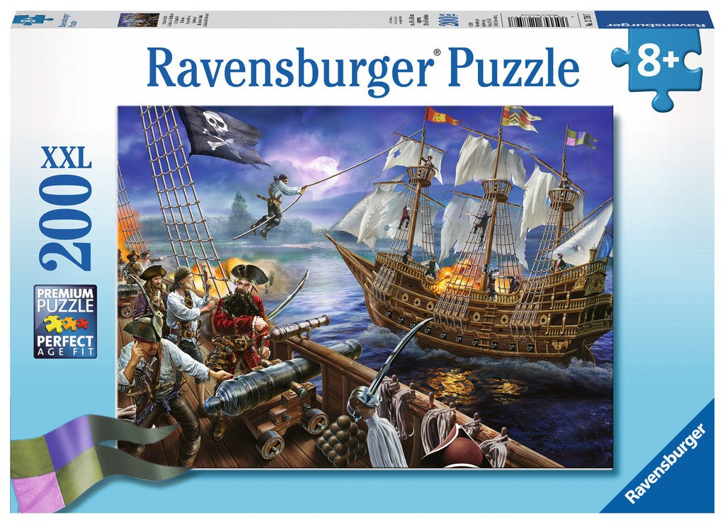Blackbeard's Battle - 200pc Jigsaw Puzzle By Ravensburger  			  					NEW