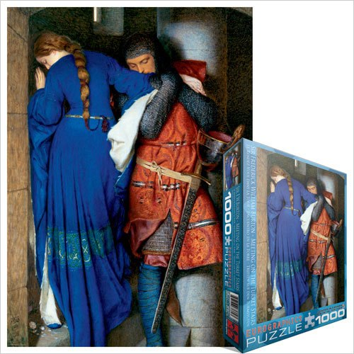 Burton: Meeting on the Turret Stairs - 1000pc Jigsaw Puzzle by Eurographics