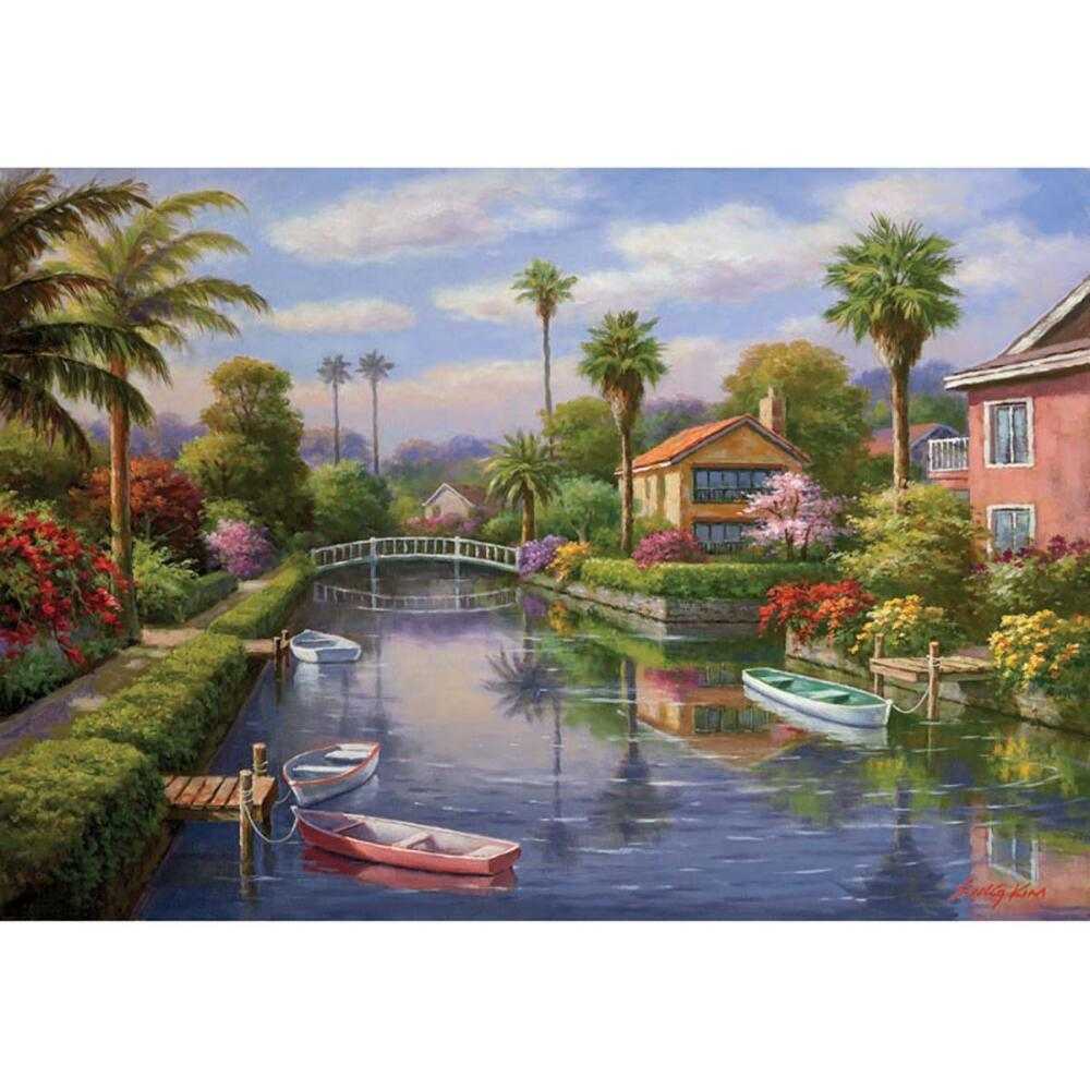 Private Docks I - 2000pc Jigsaw Puzzle by Anatolian