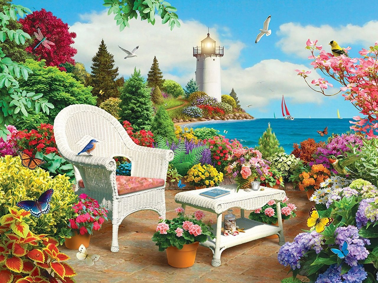 Lazy Days: Memories - 750pc Jigsaw Puzzle By Masterpieces  			  					NEW - image main