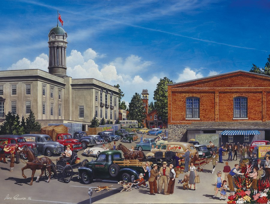 Farmers' Market - 275pc Large Format Jigsaw Puzzle By Cobble Hill