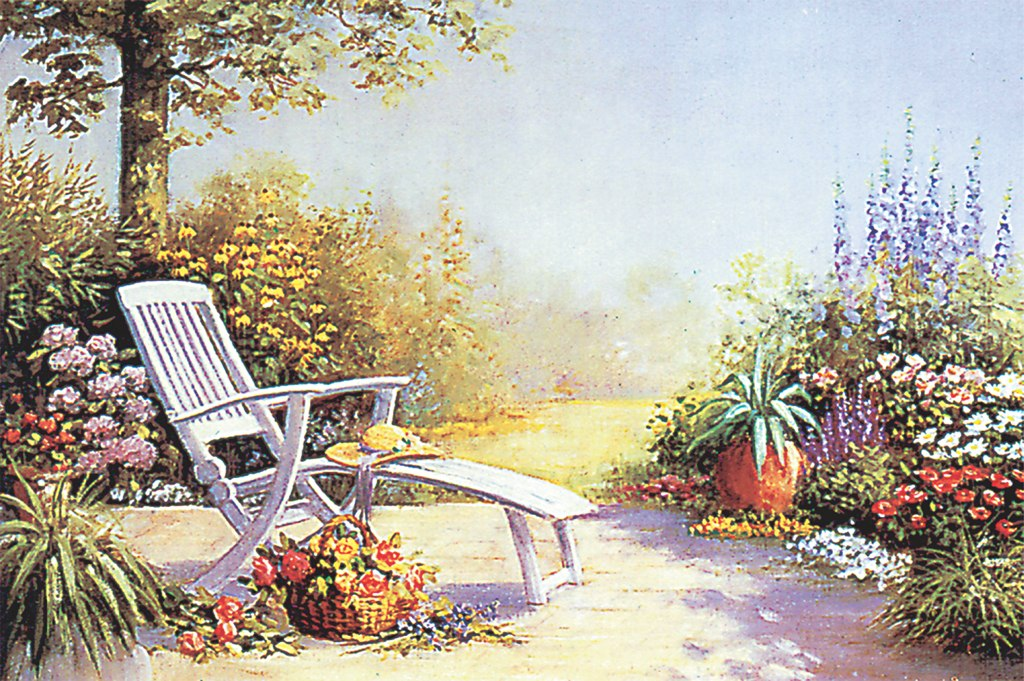 Summer Kisses Garden - 1000pc Jigsaw Puzzle by Tomax