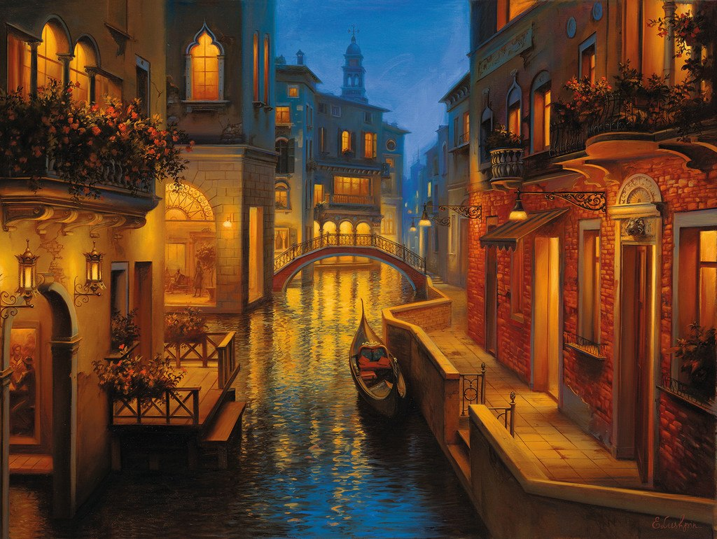 Waters of Venice - 1500pc Jigsaw Puzzle by Ravensburger