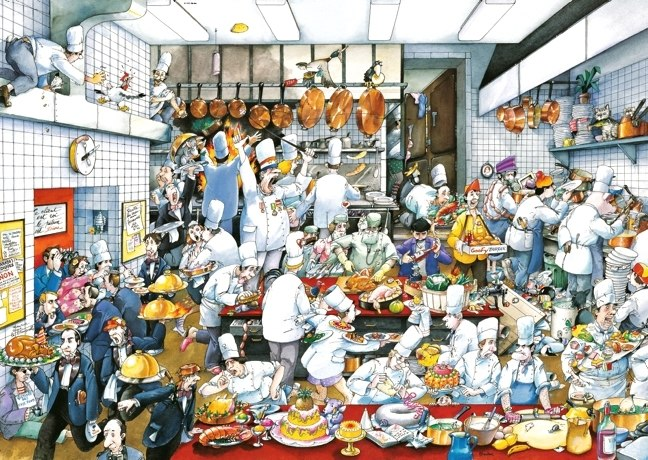 Blachon: Bon appétit! - 1500pc Jigsaw Puzzle By Heye  			  					NEW
