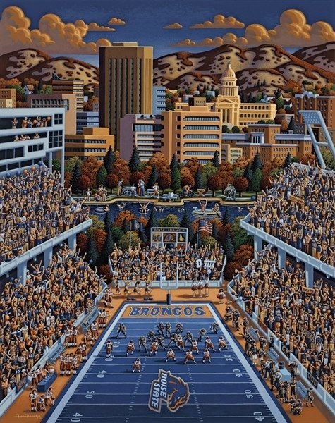 Boise State - 500pc Jigsaw Puzzle by Dowdle
