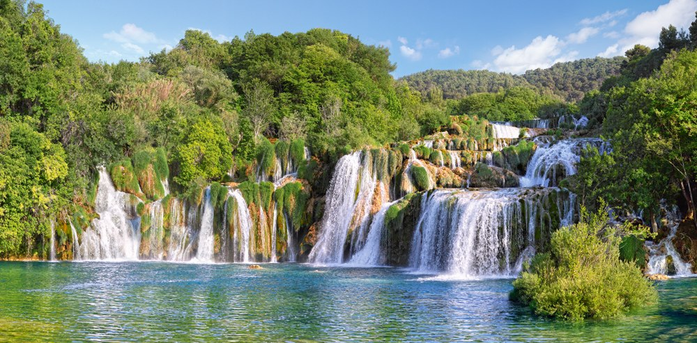 Krka Waterfalls, Croatia - 4000pc Jigsaw Puzzle By Castorland