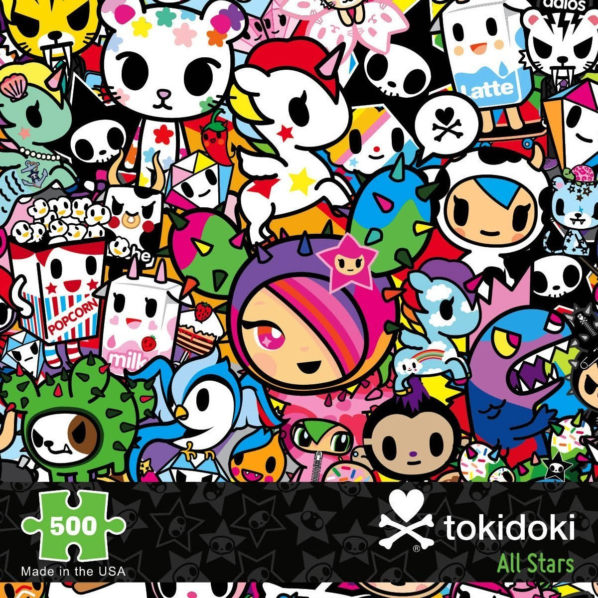 Tokidoki All-Stars - 500pc Jigsaw Puzzle By Re-marks  			  					NEW