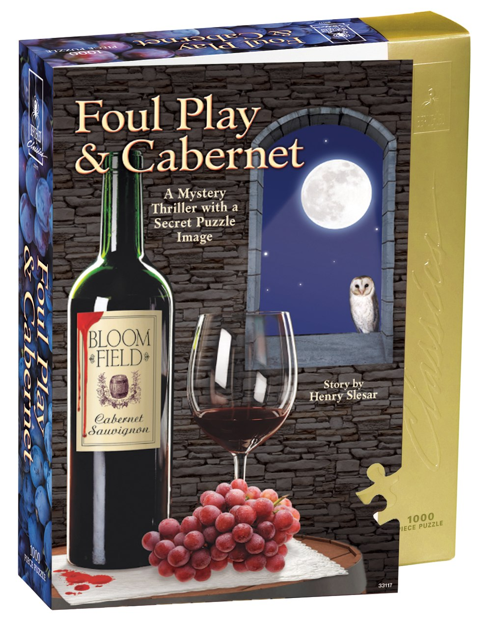 Foul Play & Cabernet - 1000pc Jigsaw Puzzle by BePuzzled
