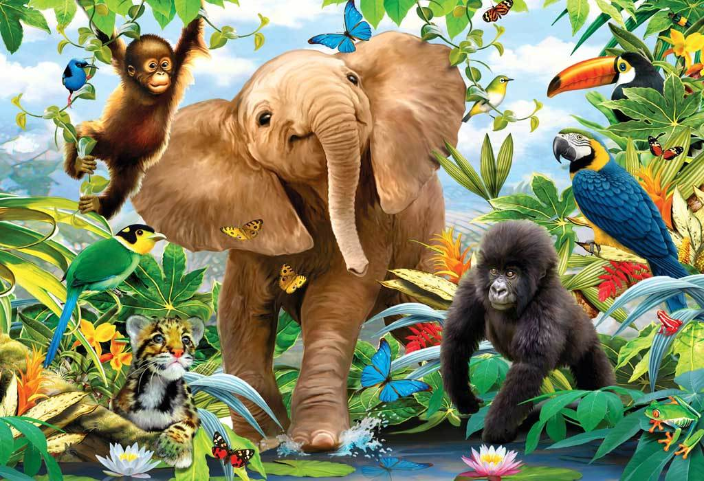 Jungle Juniors - 24pc Floor Puzzle By Ravensburger