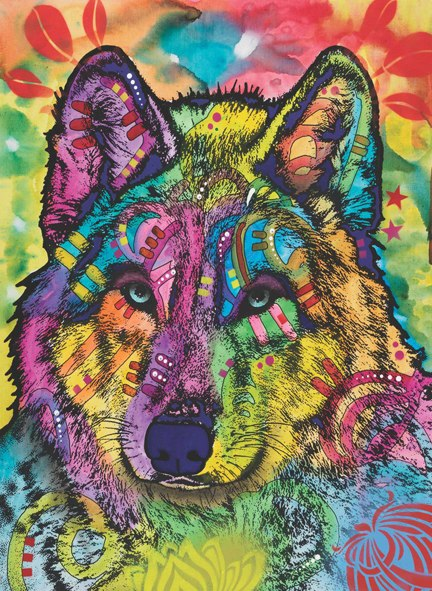 The Stare of the Wolf - 1000pc Jigsaw Puzzle by Anatolian  			  					NEW