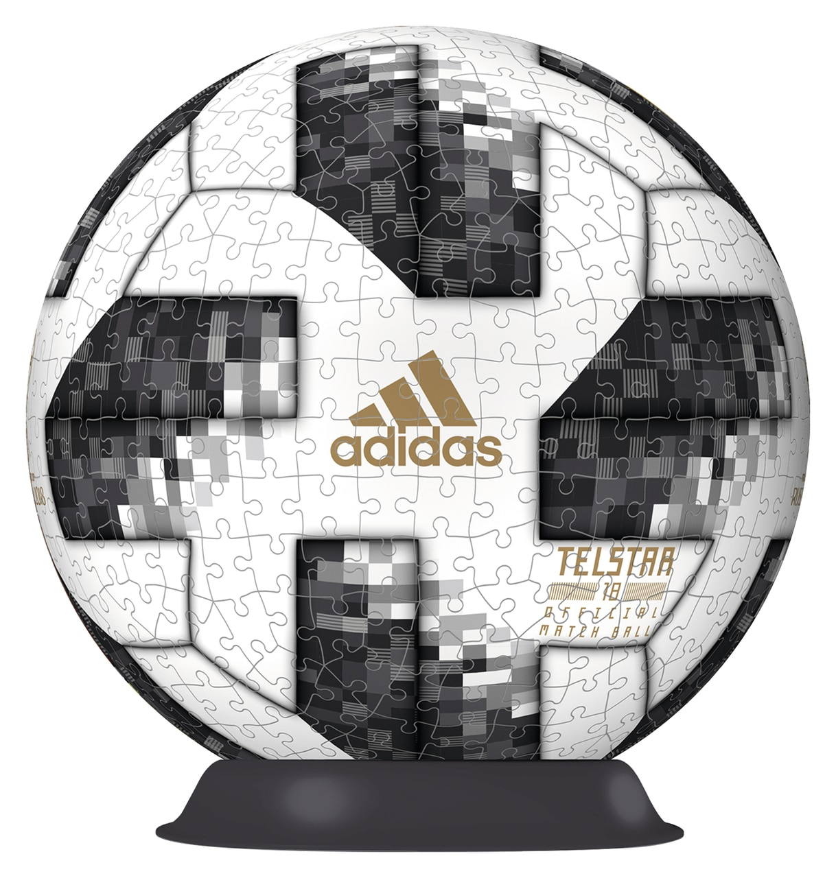 2018 Adidas World Cup - 54pc 3D By Ravensburger  			  					NEW