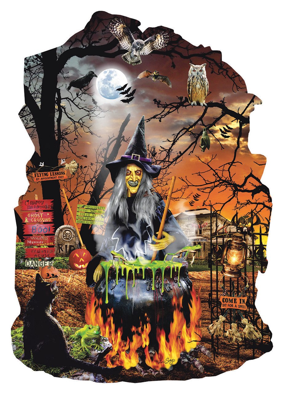 Witch's Brew - 1000pc Jigsaw Puzzle by Sunsout  			  					NEW