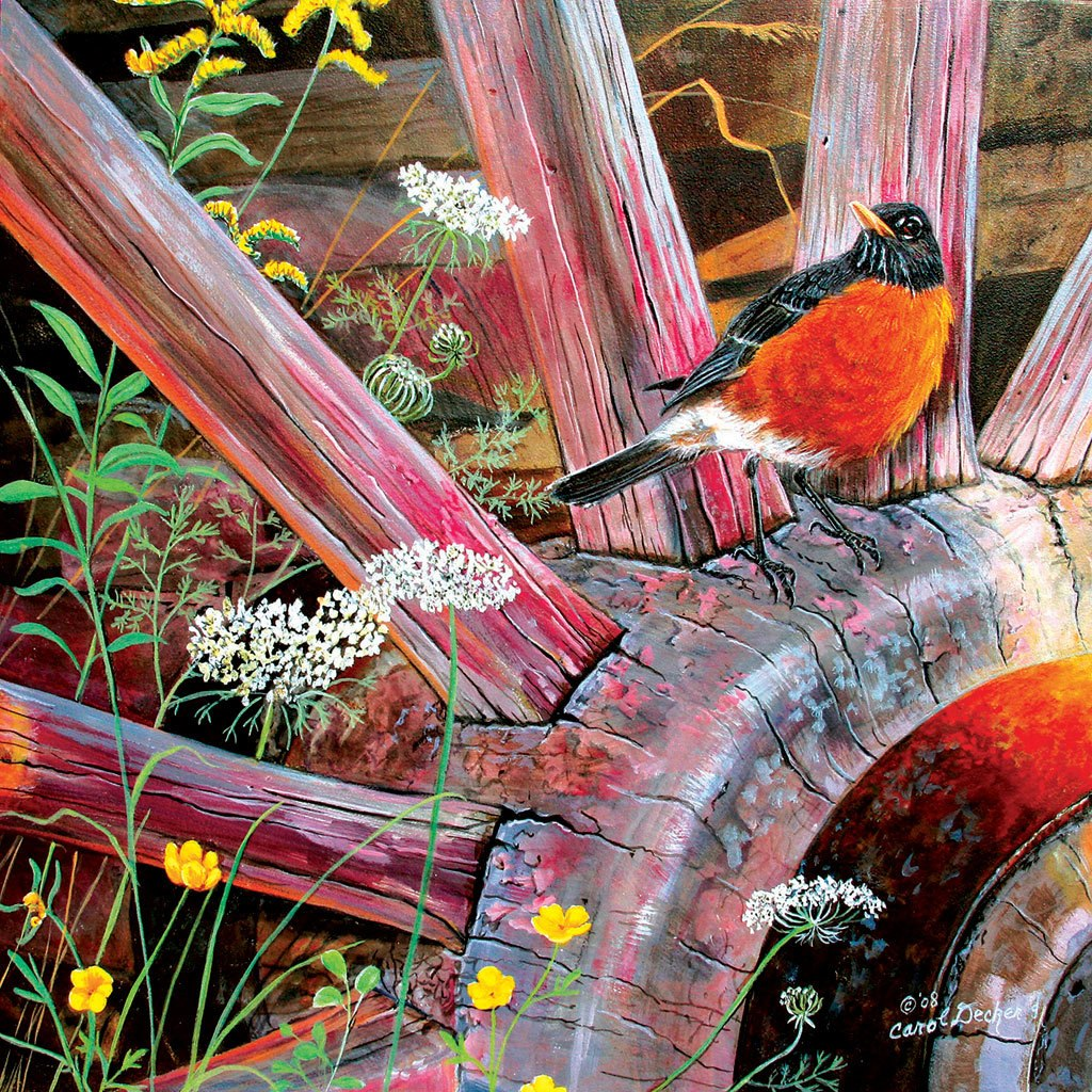 Round Robin - 500pc Jigsaw Puzzle by Sunsout