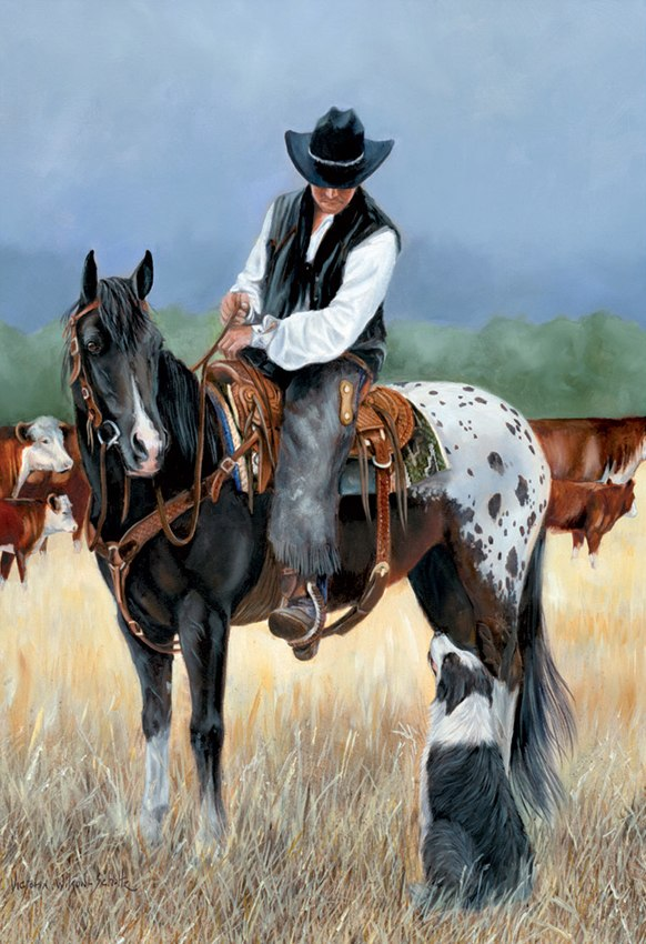 Cowboy - 1000pc Jigsaw Puzzle By Educa