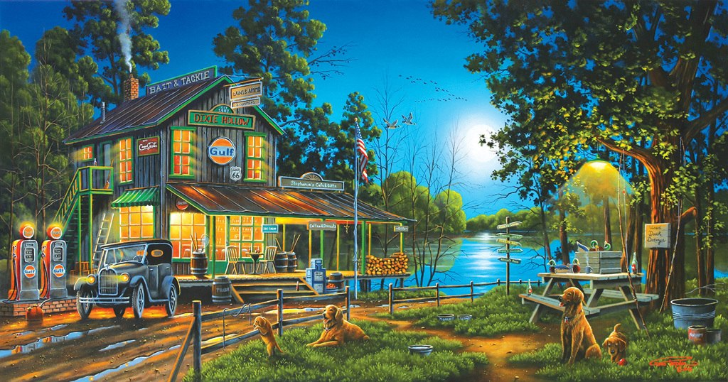 Dixie Hollow General Store - 1000pc Jigsaw Puzzle by SunsOut
