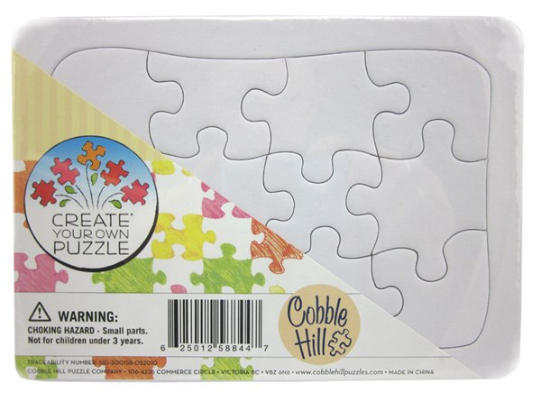 Create Your Own 5x7 – 12pc Jigsaw Puzzle by Cobble Hill