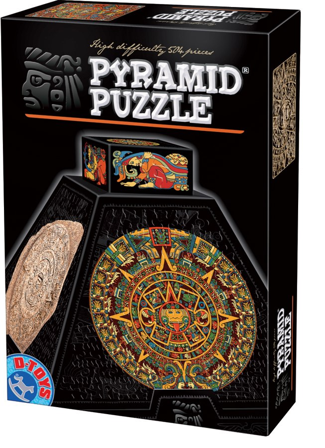 Precolumbian Art 2 - 504pc Shaped Jigsaw Puzzle by D-Toys