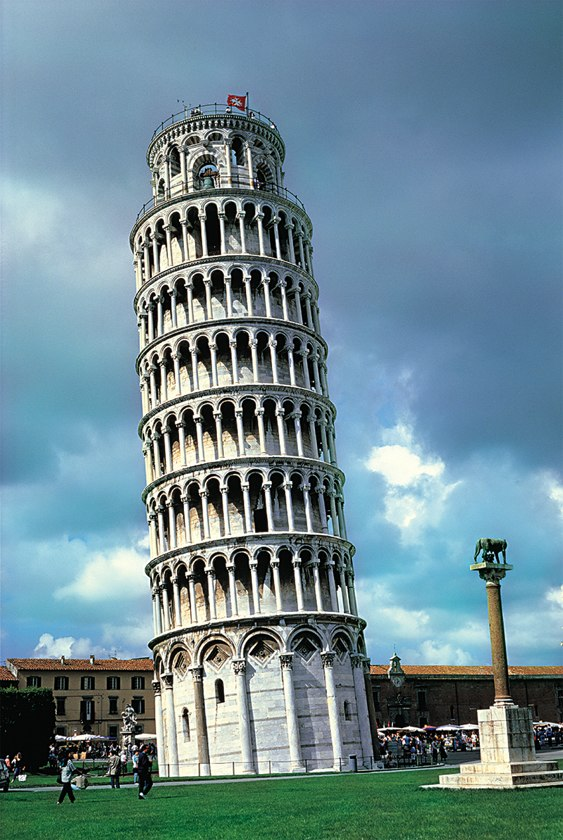 Pisa Leaning Tower, Italy - 1000pc Jigsaw Puzzle by Tomax