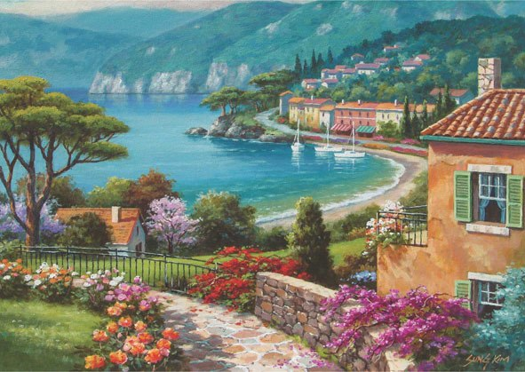 Lakeside - 1500pc Jigsaw Puzzle by Anatolian  			  					NEW