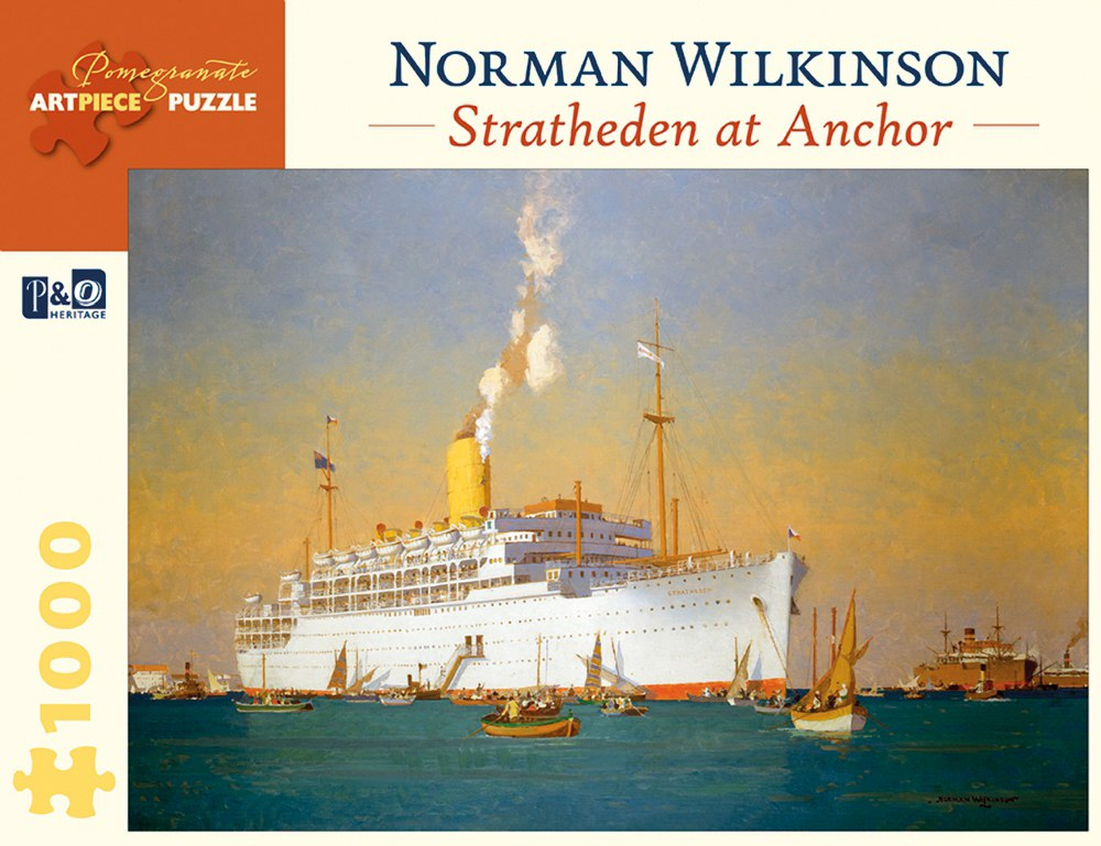 Wilkinson: Stratheden at Anchor - 1000pc Jigsaw Puzzle by Pomegranate