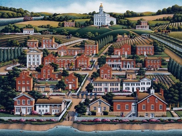 Nauvoo - 500pc Jigsaw Puzzle by Dowdle