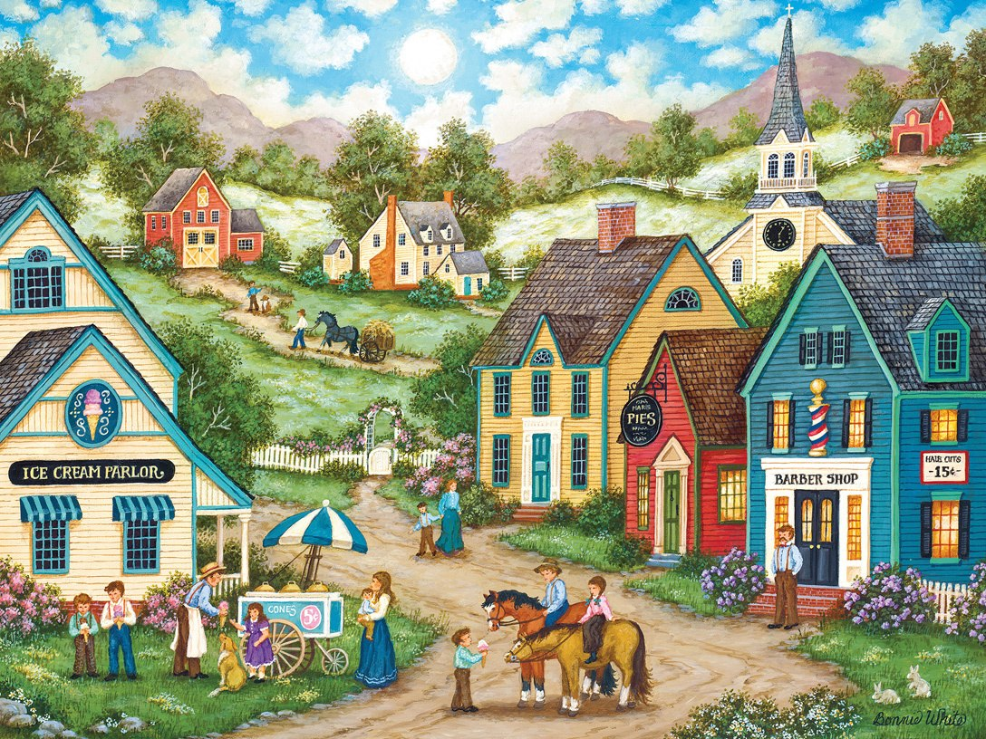 Heartland: Double Dip - 550pc Jigsaw Puzzle by Masterpieces