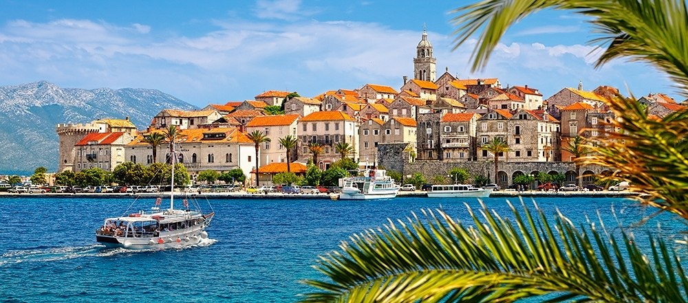 Korcula, Croatia - 600pc Jigsaw Puzzle By Castorland  			  					NEW
