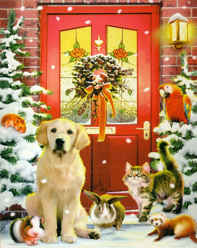 Christmas Welcome - 1000pc Jigsaw Puzzle By Vermont Christmas Company