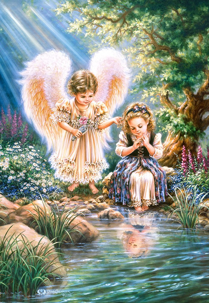 Monday's Angel - 1500pc Jigsaw Puzzle By Castorland  			  					NEW