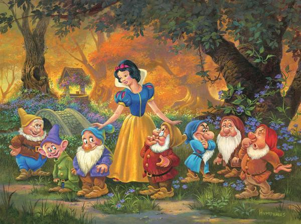 Disney: Among Friends - 1000pc Jigsaw Puzzle by Ceaco  			  					NEW