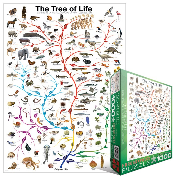The Tree of Life - 1000pc Jigsaw Puzzle by Eurographics