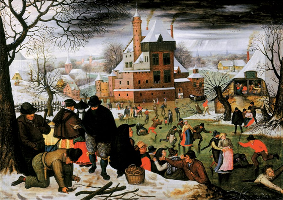 Winter: Breughel - 1000pc Jigsaw Puzzle by D-Toys