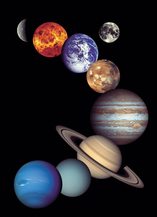 NASA Solar System - 1000pc Jigsaw Puzzle by Eurographics