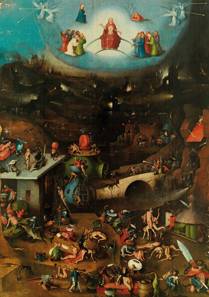 Bosch: The Last Judgement - 1000pc Jigsaw Puzzle by Piatnik