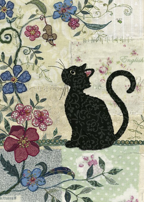 Cat & Mouse  - 1000pc Jigsaw Puzzle By Heye  			  					NEW