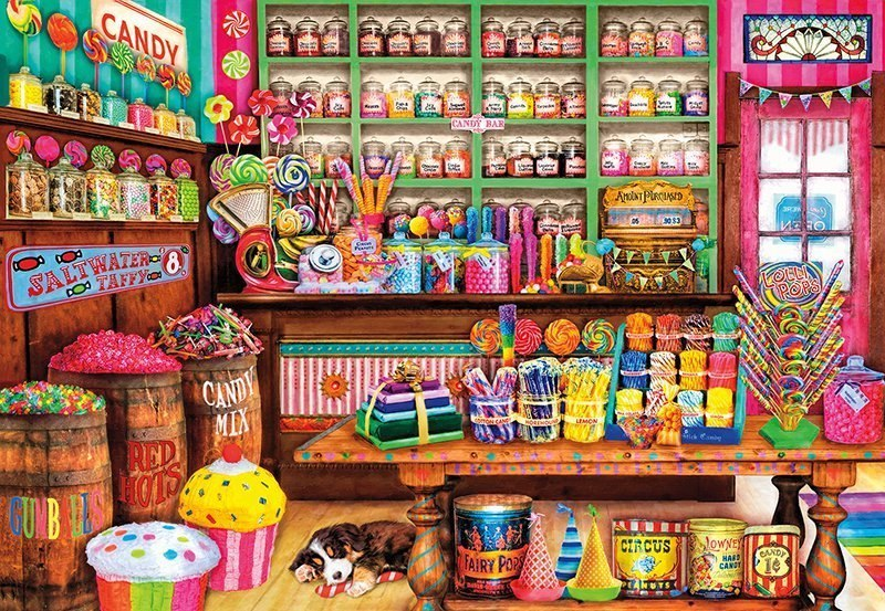 Sweet Shop - 2000pc Jigsaw Puzzle by Buffalo Games