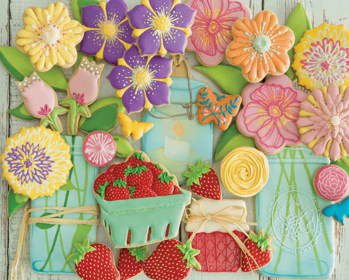 Spring Cookies - 2000pc Jigsaw Puzzle by Springbok