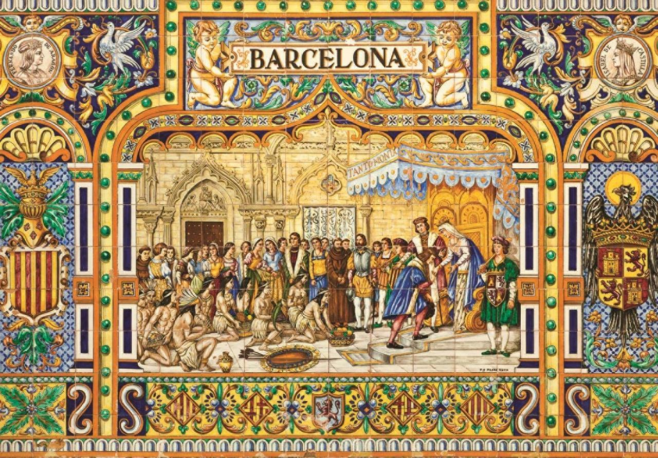 Tiles of Barcelona - 3000pc Jigsaw Puzzle By Jumbo  			  					NEW